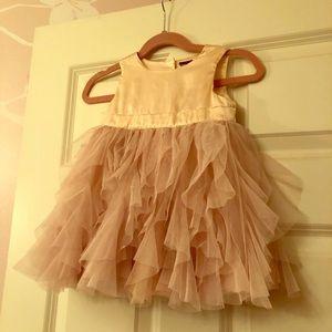 Girls holiday dress size 24mo tulle skirt